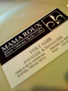 Best Cajun in Austin is Mama Roux!